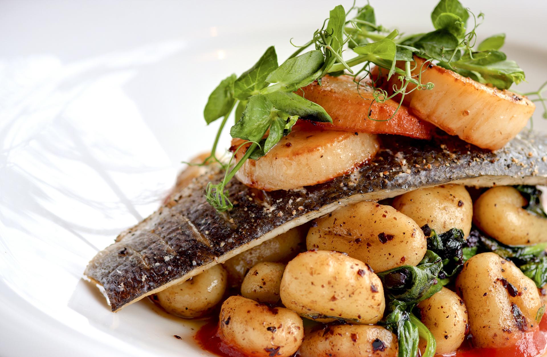 Pallant Restaurant & Cafe - Fish Course