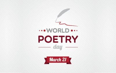 World Poetry Day Afternoon Tea – Wednesday 21st March